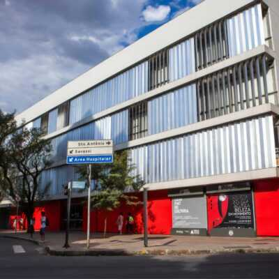 Fachada Casa Fiat de Cultura _Credito_Studio Cerri