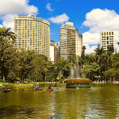 Parque Américo Renné Giannetti - Foto Henry Y. Belotur